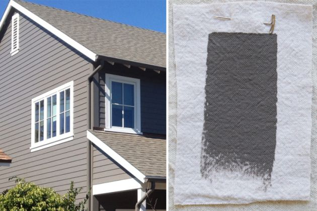 Best Exterior Gray Outdoor House Paint Color Ici Grey Hearth Gardenista The Great Outdoors