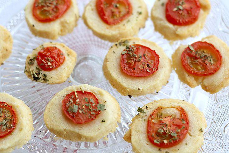 Hartige sablés met Parmezaanse kaas van Rachel Khoo