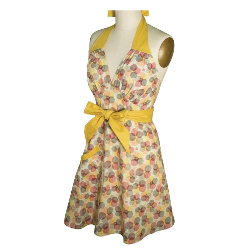 Kitsch'n Glam Floralia. Who said aprons have to be boring? $40.00 retro style!