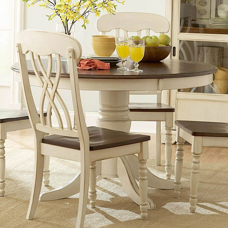 100+ White Round Dining Table Sets - Best Furniture Gallery Check more at http://livelylighting.com/white-round-dining-table-sets/
