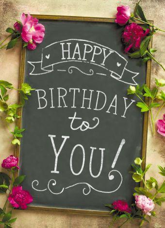 verjaardagskaart 40 bloemen - Google zoeken