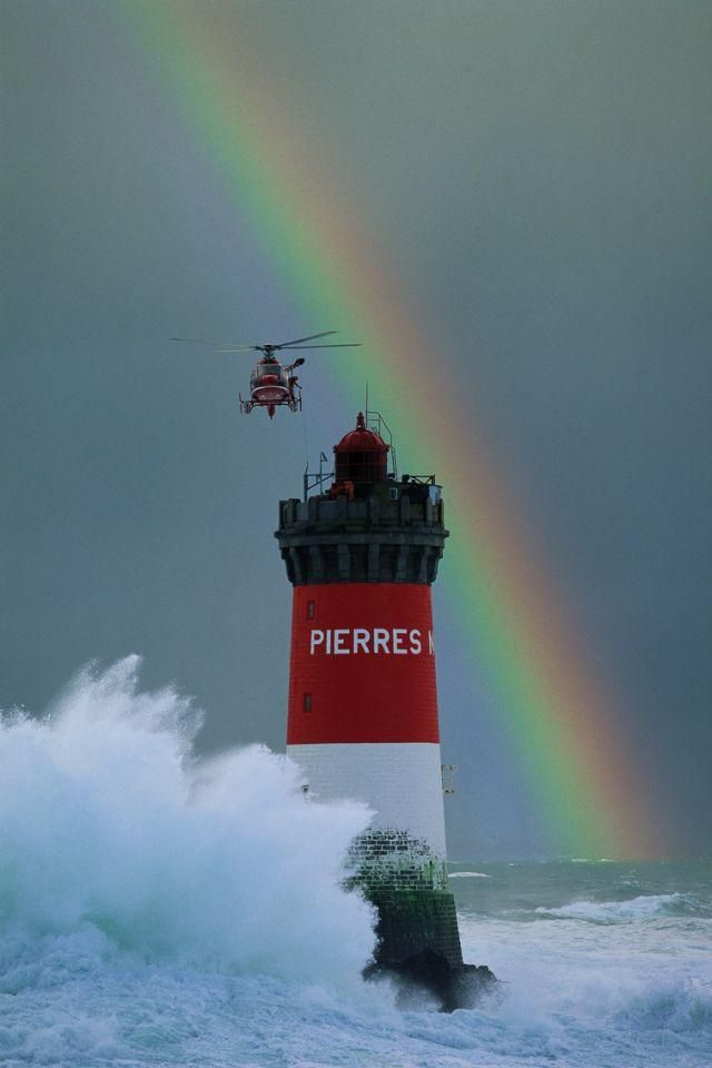 Pierres Noires, France ... not the prettiest lighthouse but a family connection! Photo: Jean Guichard.