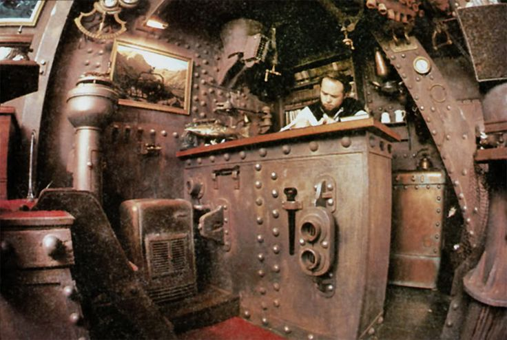 New Workshop, Nautilus Submarine Style