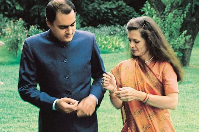 Destined To Be Together: Unheard Love Story Of Rajiv Gandhi And Sonia Gandhi - BollywoodShaadis.com
