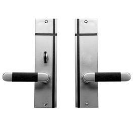 Horizontal Inlay Lever X Lever Mortise Lock Door Entry Set With Patio Function  Contemporary, Transitional, Metal, Wood, Door by Sun Valley Bronze