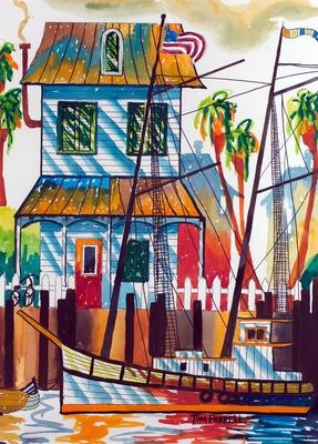 """Key West Morning"" by Tom Farrell (2011)."