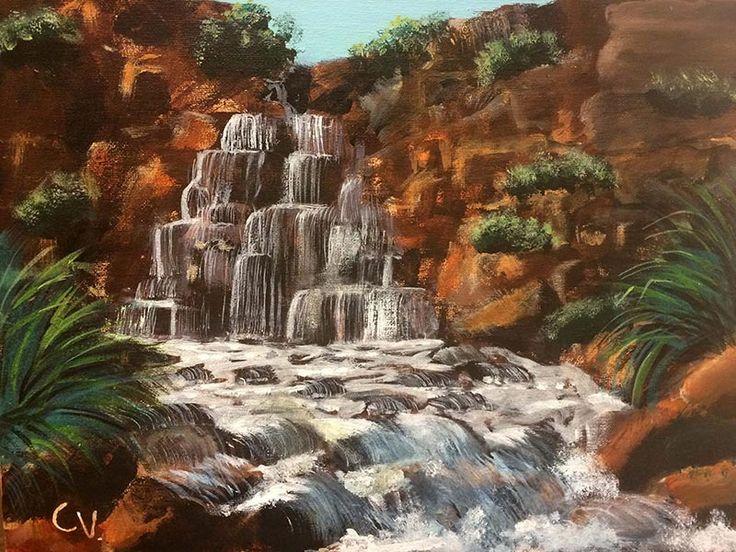 Caitlin's waterfall | Melbourne Art Classes http://www.melbourneartclasses.com.au/kids-art-classes/photos-of-kids-art-works/caitlins-waterfall.html?utm_content=buffer4e373&utm_medium=social&utm_source=pinterest.com&utm_campaign=buffer #kidsartclasses #artclassesmelbourne #melbourneartclasses #paintingclassesforkids