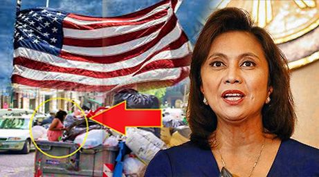 Did VP Robredo really collected reusable garbage of Americans while in Boston USA?? Seriously?!