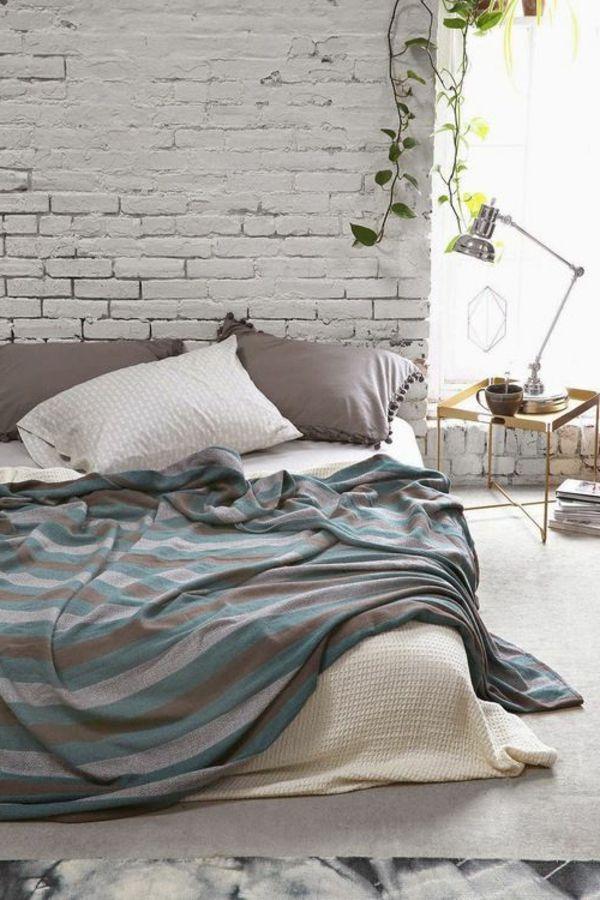 17 Best Images About Farben ? Neue Trends Und Frische Muster ... Dunkelgraue Wandfarbe Mit Muster