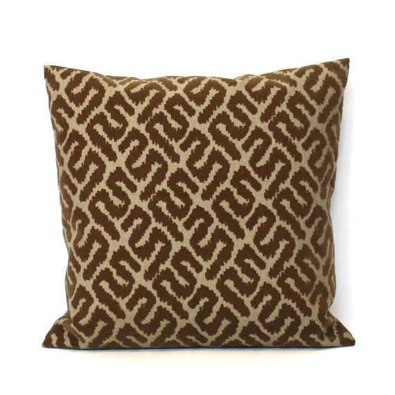 Throw Pillow Covers Brown : Best 25+ Brown pillow covers ideas on Pinterest Brown couch throw pillows, Brown pillows and ...