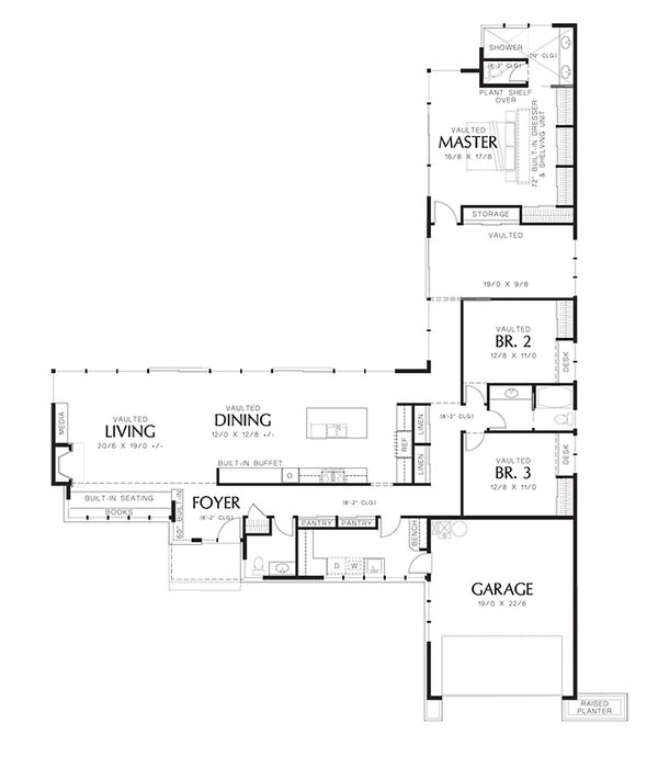 267 best shouse plans images on pinterest floor plans for 16 x 48 house plans