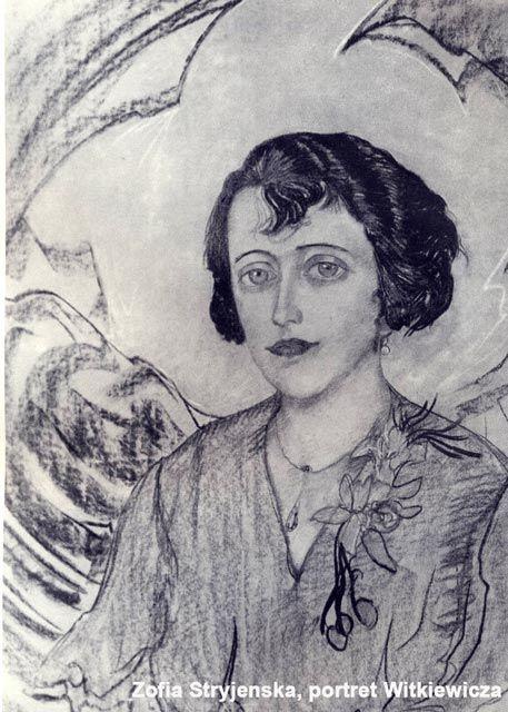Stryjeńska (portret Witkiewicza)