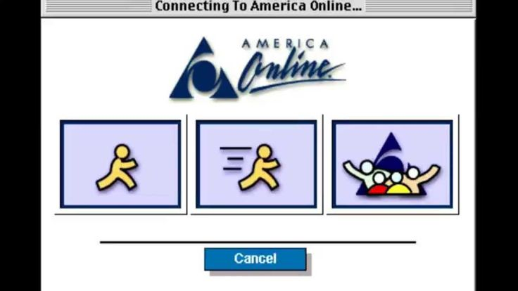 AOL Dial Up Internet Connection Sound + You've Got Mail (America Online)...