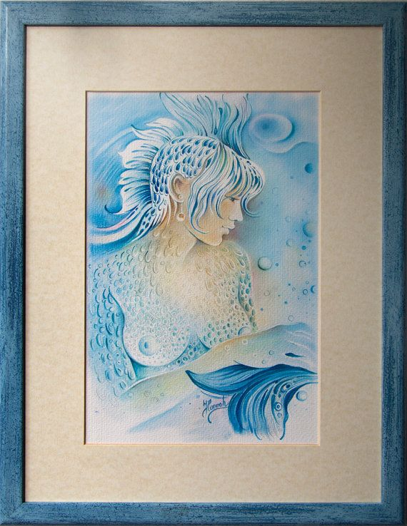 """""""THE PISCES"""" - Protective Angel for Zodiac Sign"""