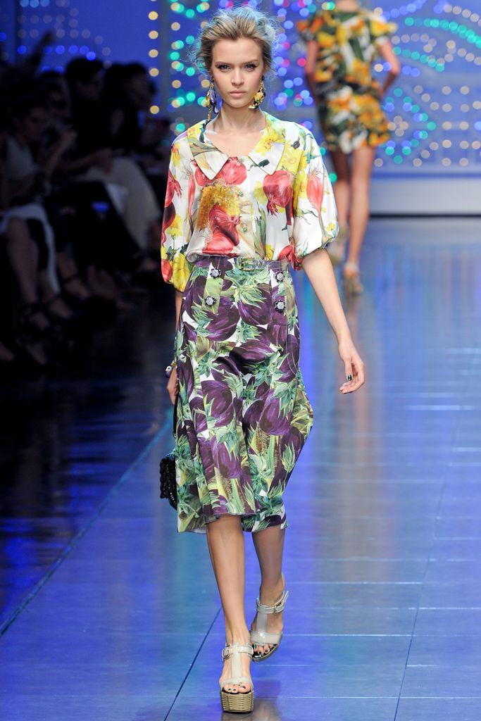 Dolce & Gabbana Spring 2012 Ready-to-Wear - Collection - Gallery - Style.com