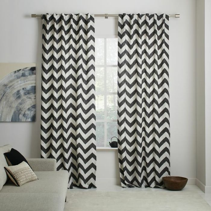 M s de 25 ideas fant sticas sobre cortinas en blanco y for Cortinas salon blanco y gris