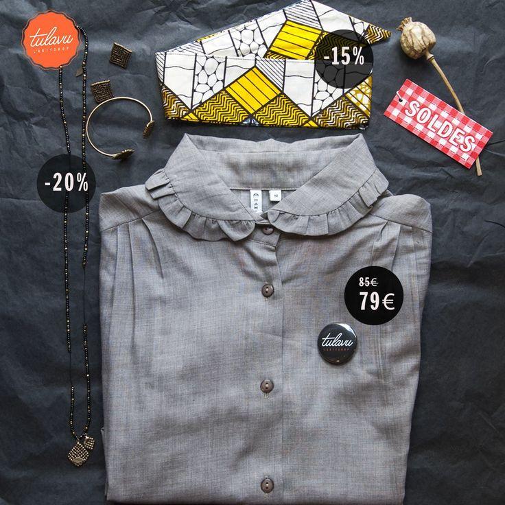 // ZOOM #SOLDES // #Collection Paraty de #SibylleFlouret #Bijoux soldée à -20%, les #accessoires de #CageCreations à -15% et certains vêtements de #Mamamushi à -10% ! Alors viens en profiter ----> TULAVU Concept Store Marseillais