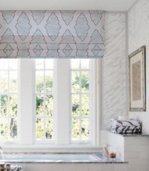 25 best ideas about faux roman shades on pinterest for Roman blinds kitchen ideas