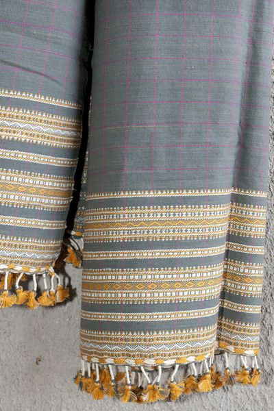#handwoven using #Kalacotton and regular cotton in #Bhuj In Stock Rs. 1100