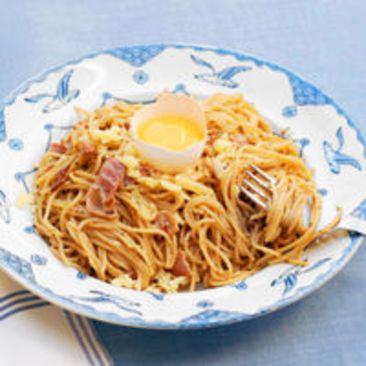 Barnens pasta carbonara