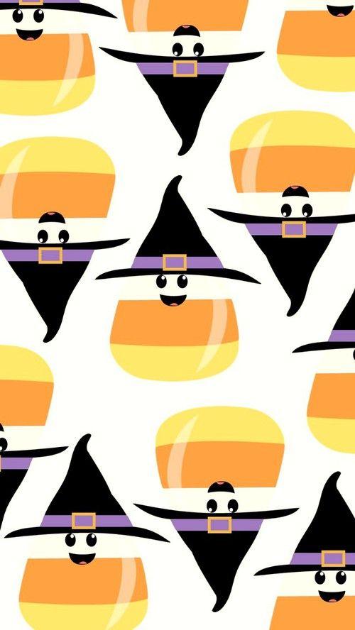 Halloween Candy Wallpaper