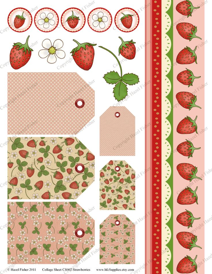 Hazel Fisher Creations: Strawberries