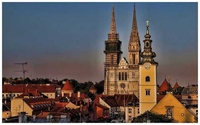 """Zagreb: Croatia's commerce and culture capital known as the """"city of one million hearts"""""""