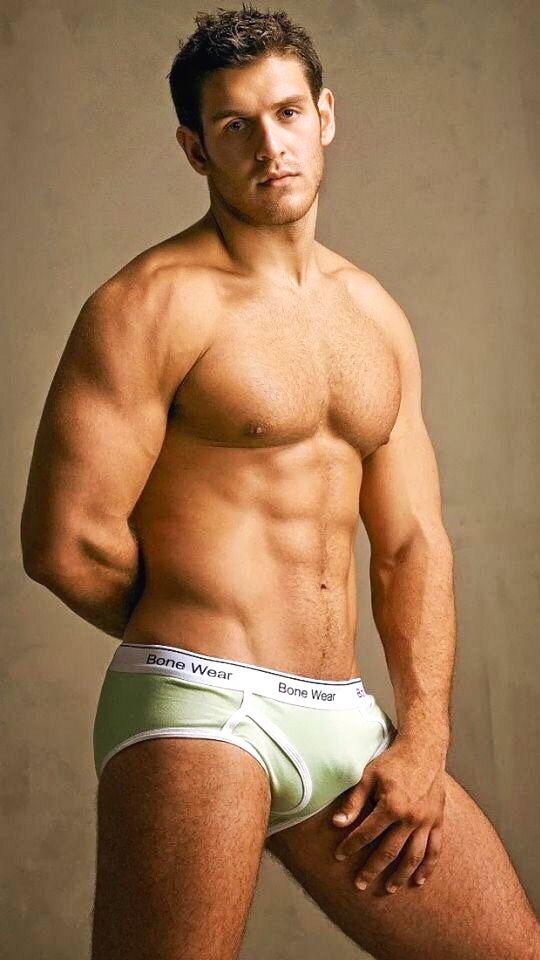 Hairy bulging panties