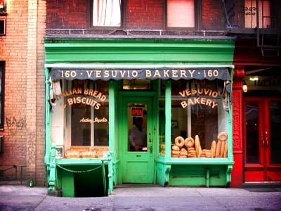 the Vesuvio Bakery on Prince Street in Soho.    I deviated only slightly from the directions, using one of the overlayed feathered