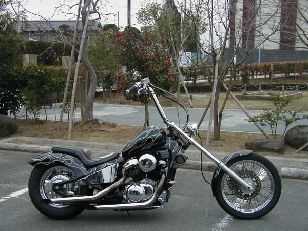 Honda VLX Chopper | Honda Shadow VT 600 C | Pinterest ...
