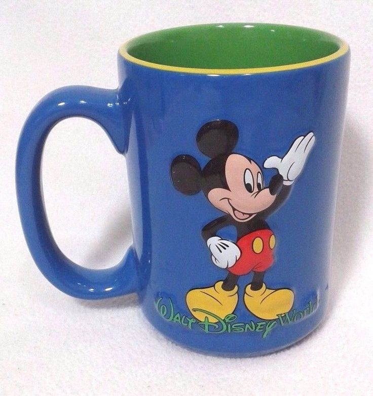 Disney Mickey Mouse Coffee Mug Cup Walt Disney World #Disney #MickeyMouse