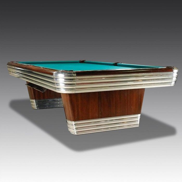 An  absolute classic, and a landmark in the history of pool tables from a highly respected manufacturer, the Brunswick Centennial American Pool Table.