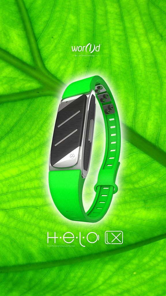 LIMITED EDITION COLOR BAND Green Coming Soon for HELO LX