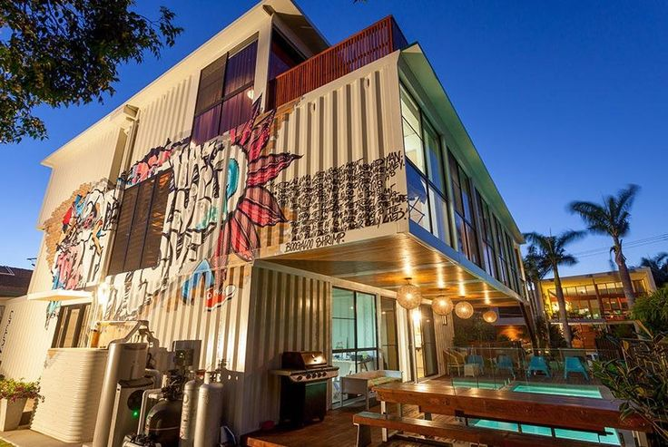 Brisbane Home Made From 31 Shipping Containers