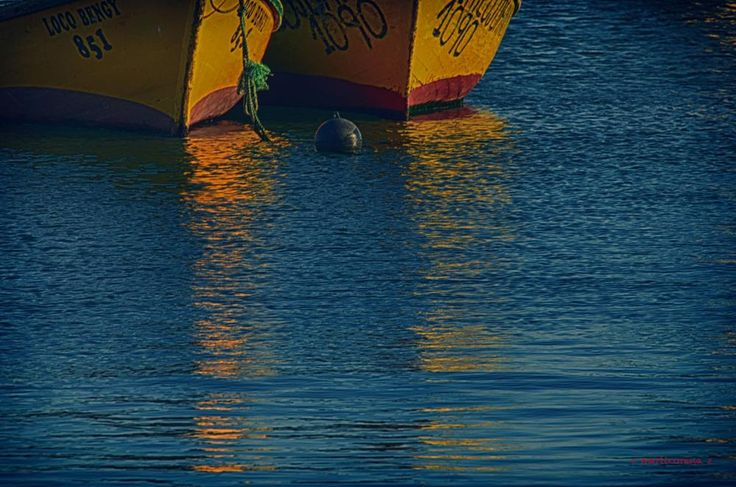 Dos botes by cecilia marticorena
