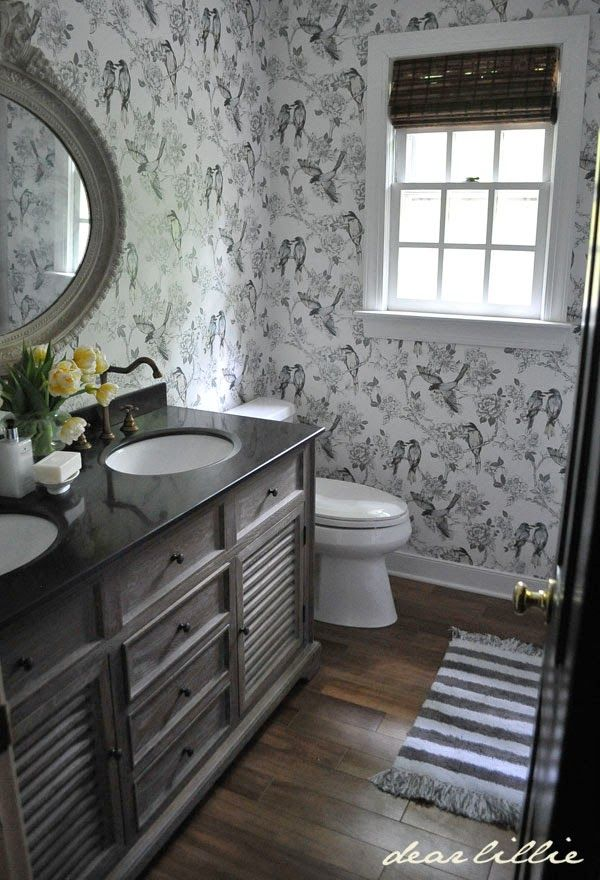 guest bathroom before and afters almost finished. Black Bedroom Furniture Sets. Home Design Ideas