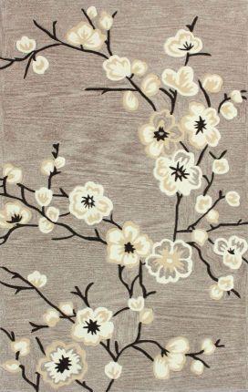 Rugs USA Keno Cherry Blossom Oatmeal Rug