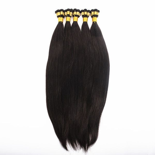 Russian hair double drawn hand tied hair weft zj00…