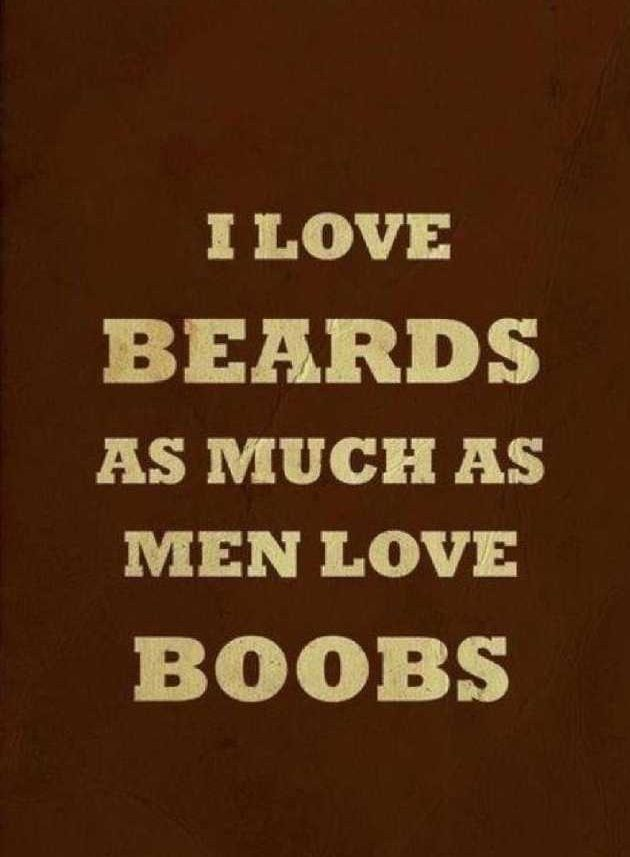 Beards and tattoos... I think this just might be true