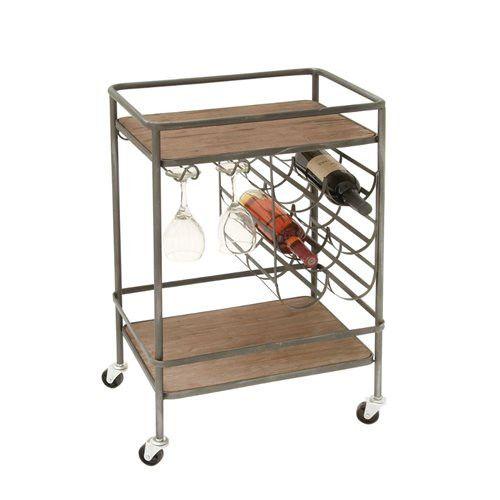 Modern Farmhouse Bar Cart
