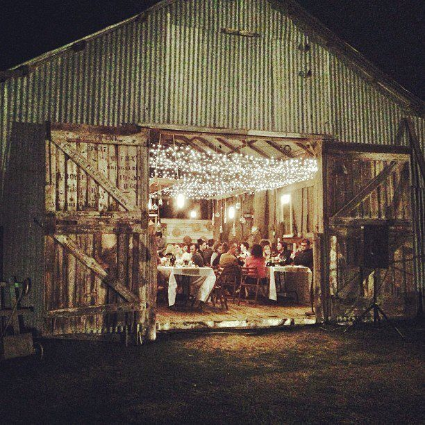 Our Australian barn wedding
