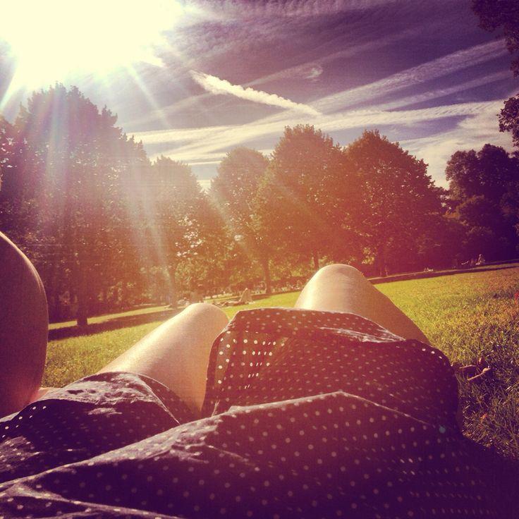 Summer park legs dress