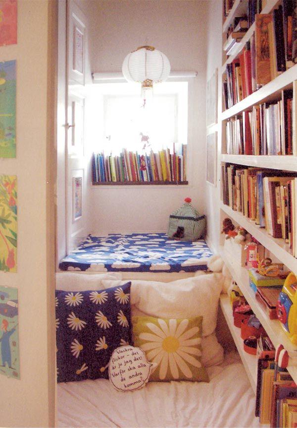 49 mejores im genes sobre rincones de lectura en pinterest - Ver habitaciones infantiles ...