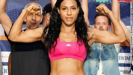 She wanted to be a fighter so badly, Cecilia Braekhus used to jump out the window of her parents' fourth-floor home to attend training.