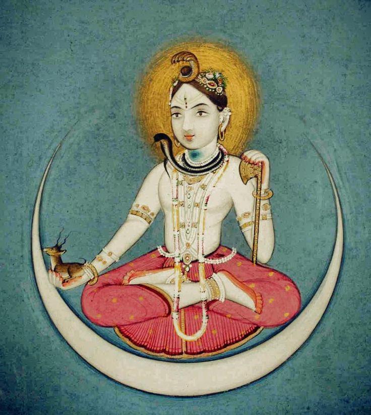 Чандра бог луны картинки