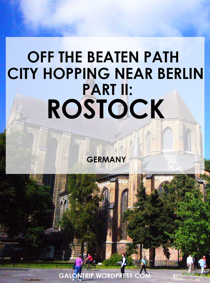 what to see and do in Rostock in only 4 hours #rostock #germany #travel