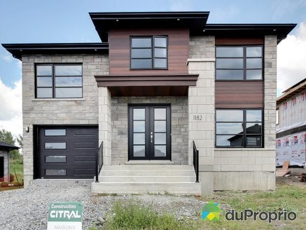 Newly-built House for sale in Boucherville, 1172, rue Jean-Vallerand | DuProprio | 640054