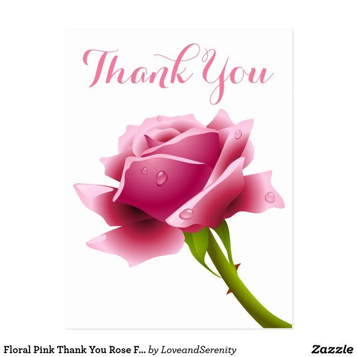 Днем рождения, открытки спасибо за розы