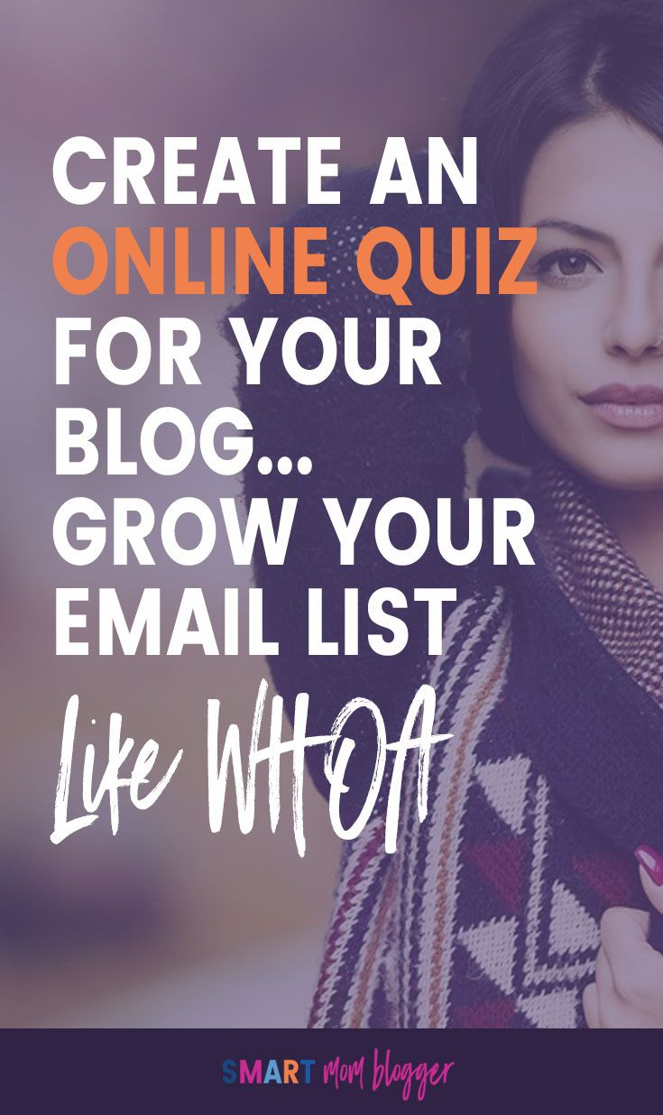 Growing your blog email list can get so boring. I tried to create an online quiz instead and it's fun! Plus, I'm getting email subscribers like whoa!