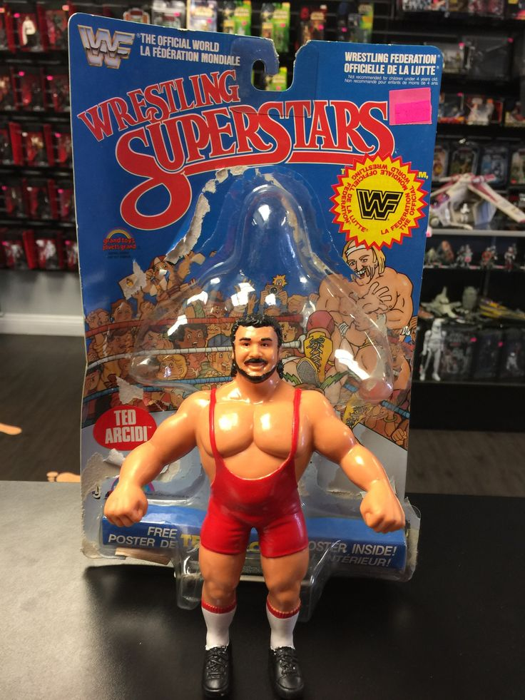WWF Wrestling Superstars Ted Arcidi LJN